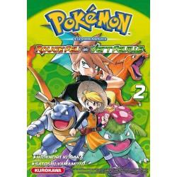 POKEMON ROUGE FEU VERT FEUILLE EMERAUDE T02 - Manga au prix de 10,00€