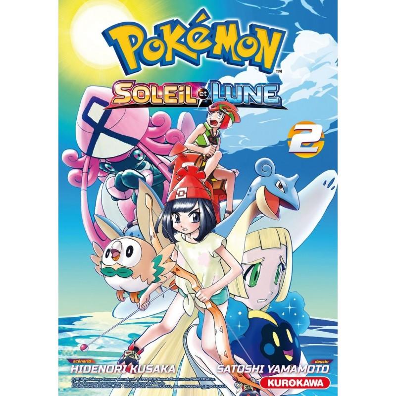 POKEMON SOLEIL LUNE T02 - Manga au prix de 6,80€