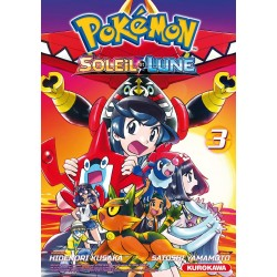 POKEMON SOLEIL LUNE T03 - Manga au prix de 6,80€