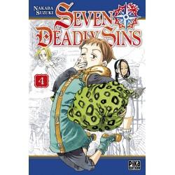 SEVEN DEADLY SINS T04 - Manga au prix de 6,95€
