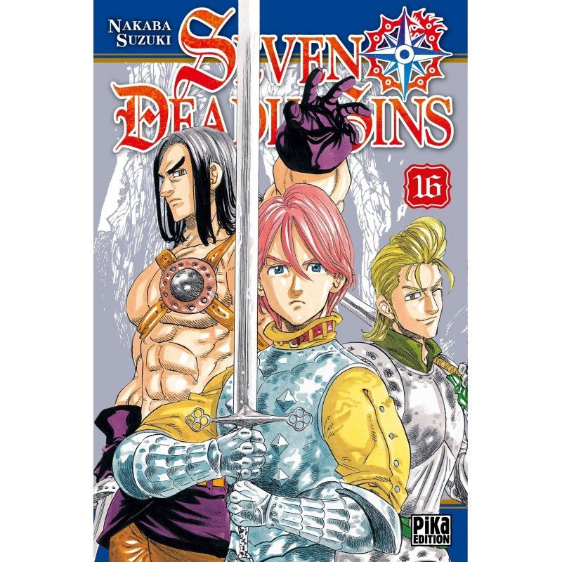 SEVEN DEADLY SINS T16 - Manga au prix de 6,95€