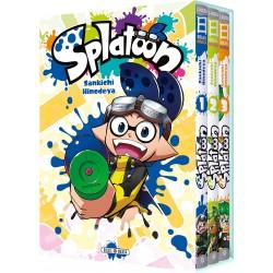 SPLATOON COFFRET 1 A 3 - Manga au prix de 23,97€
