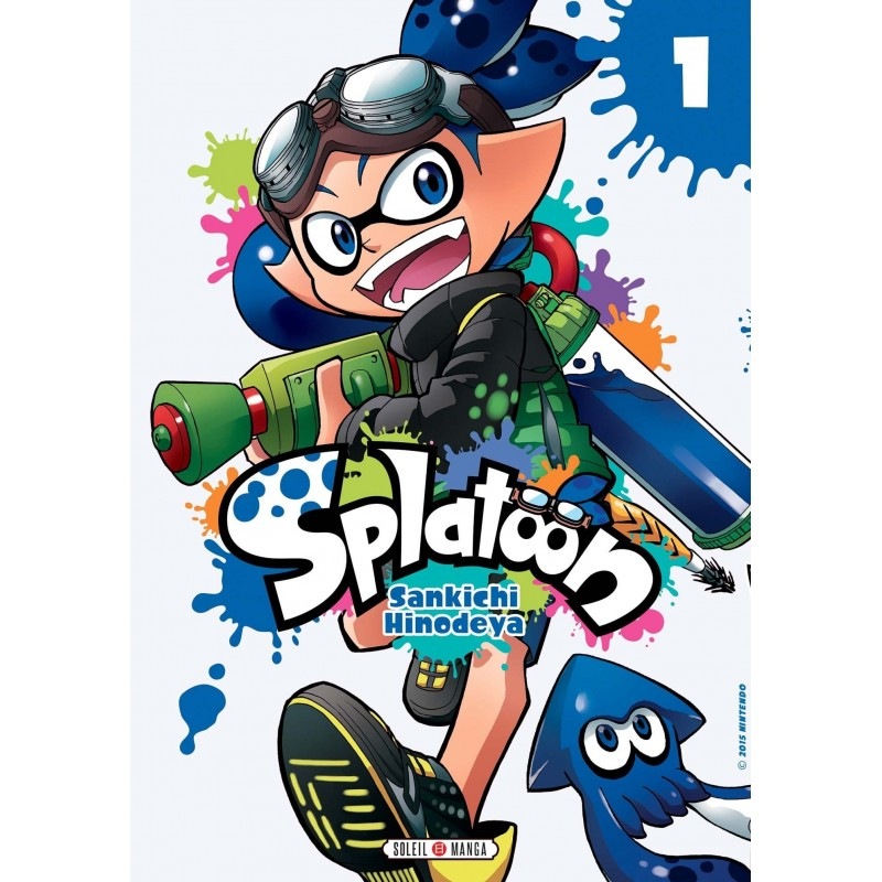 SPLATOON T01 - Manga au prix de 7,99€