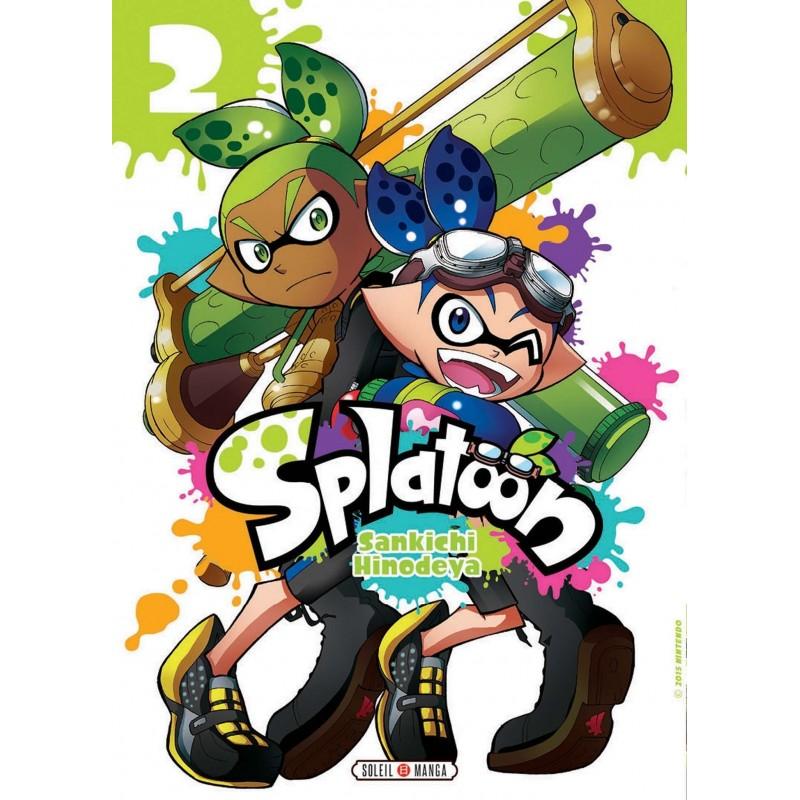 SPLATOON T02 - Manga au prix de 7,99€
