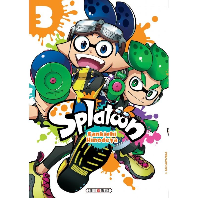 SPLATOON T03 - Manga au prix de 7,99€