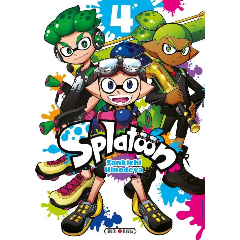 SPLATOON T04 - Manga au prix de 7,99€