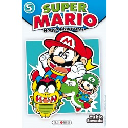SUPER MARIO MANGA ADVENTURES T05 - Manga au prix de 6,99€