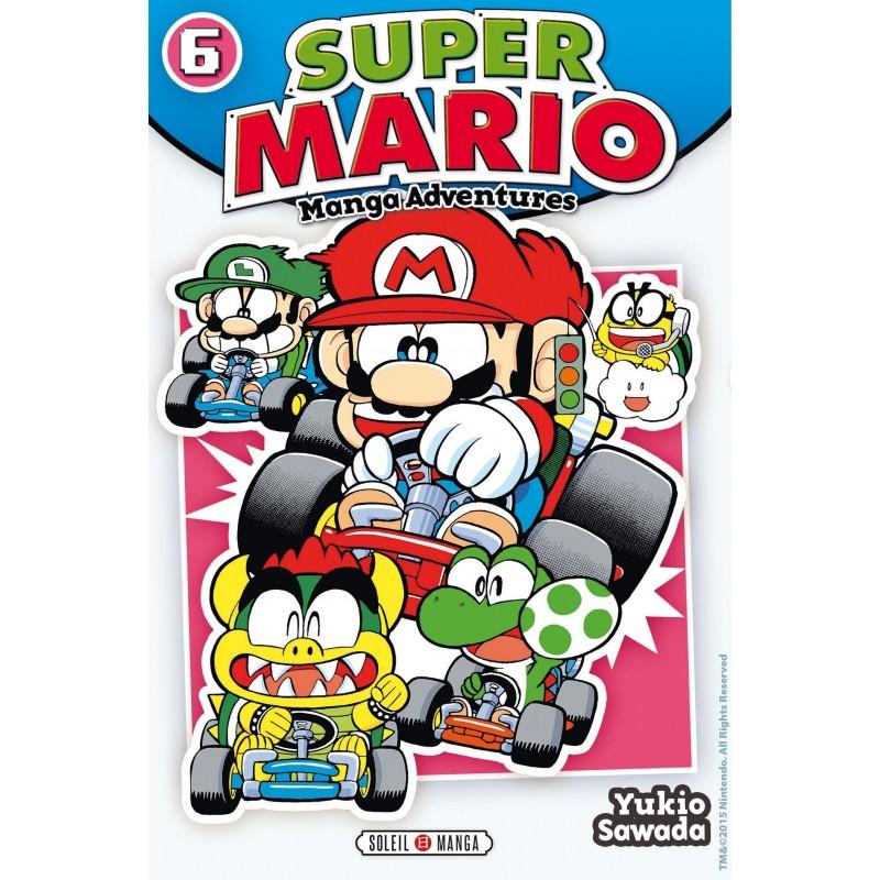 SUPER MARIO MANGA ADVENTURES T06 - Manga au prix de 6,99€