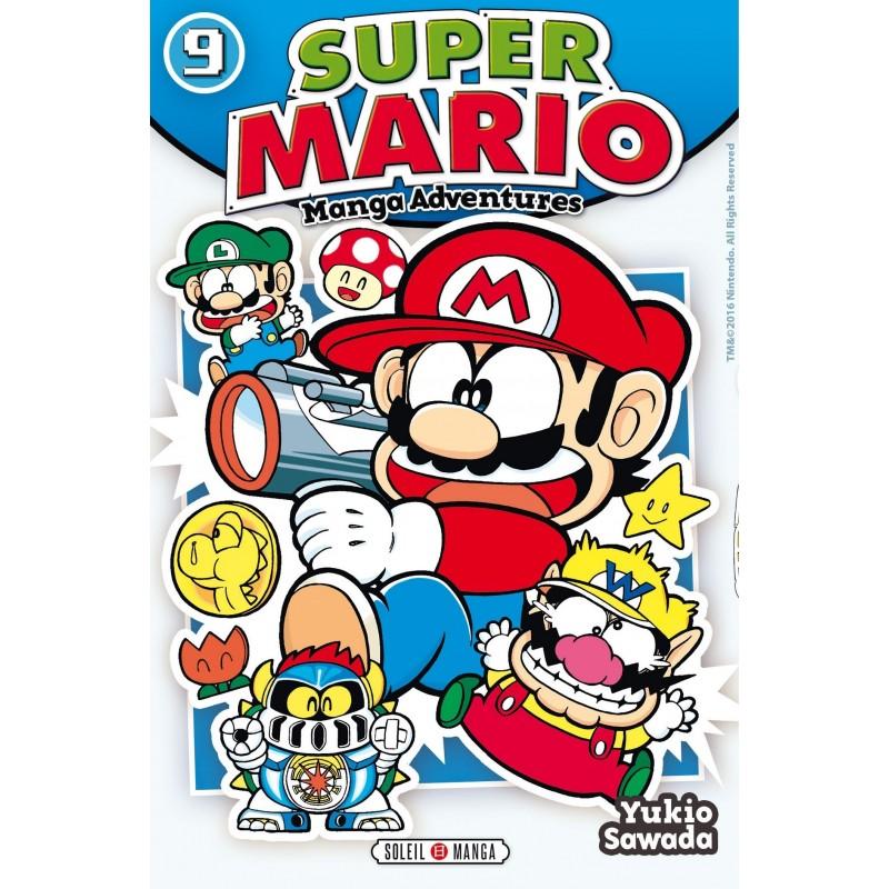 SUPER MARIO MANGA ADVENTURES T09 - Manga au prix de 6,99€