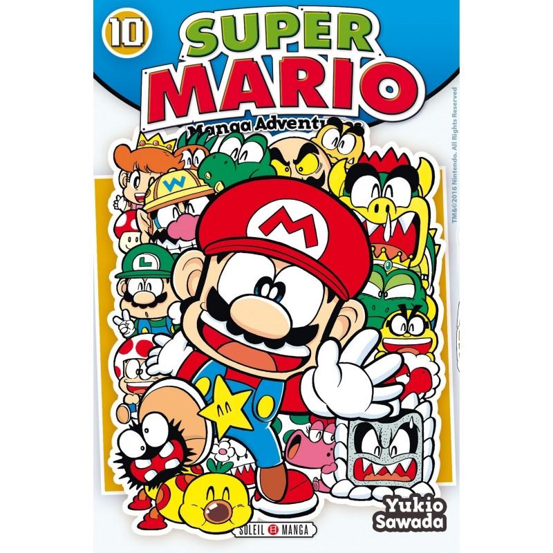 SUPER MARIO MANGA ADVENTURES T10 - Manga au prix de 6,99€
