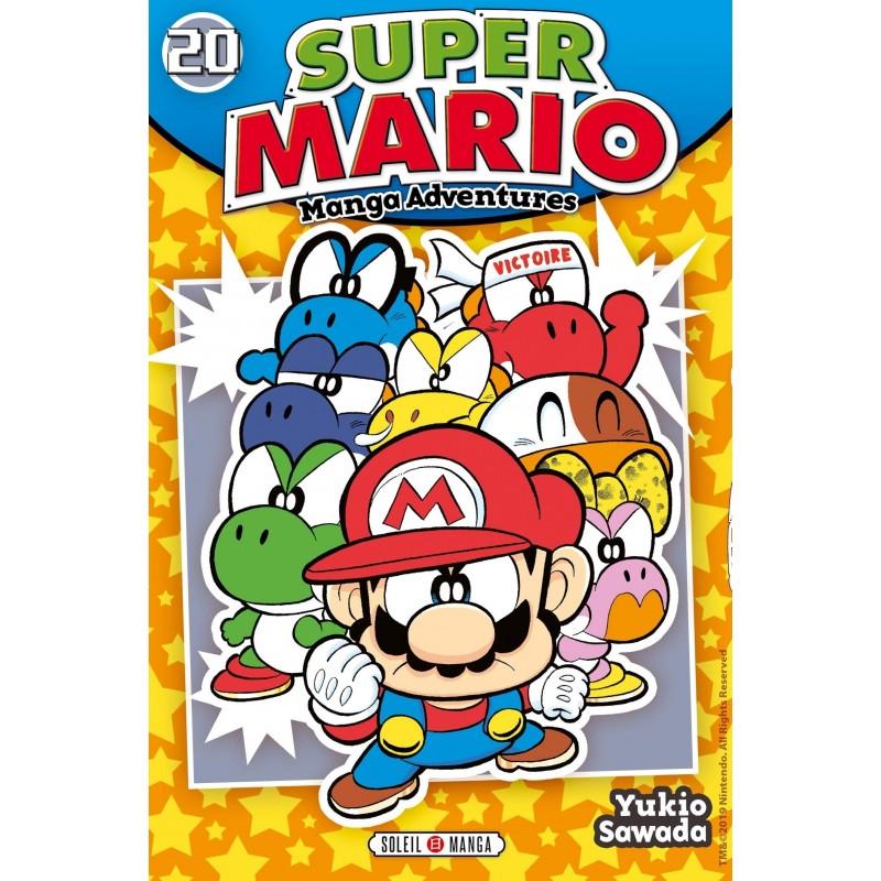 SUPER MARIO MANGA ADVENTURES T20 - Manga au prix de 6,99€