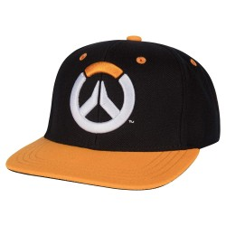 CASQUETTE OVERWATCH SHOWDOWN BLACK ORANGE - Casquettes au prix de 19,95 €