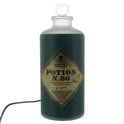 LAMPE HARRY POTTER POTION BOTTLE LIGHT - Lampes Décor au prix de 19,95 €