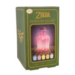 LAMPE ZELDA POTION COULEUR MULTIPLE - Lampes Décor au prix de 19,95€