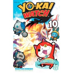 YOKAI WATCH T10 - Manga au prix de 6,89€