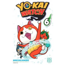 YOKAI WATCH T06 - Manga au prix de 6,89€