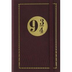 CARNET DE VOYAGE HARRY POTTER QUAI 9 3-4 - Papeterie au prix de 9,95€