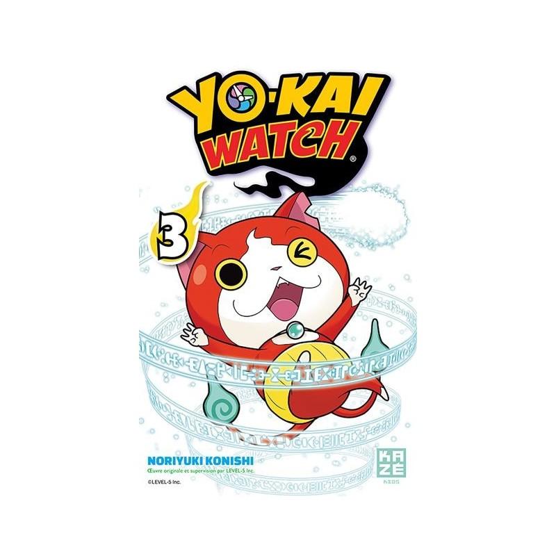 YOKAI WATCH T03 - Manga au prix de 6,89€