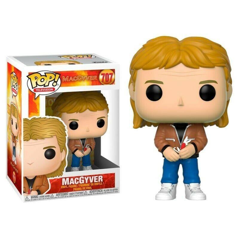 POP 707 MACGYVER - Figurines POP au prix de 14,95€