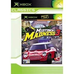 XB MIDTOWN MADNESS 3 (CLASSICS) - Jeux Xbox au prix de 4,95€