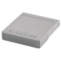 CARTE MEMOIRE GAMECUBE 251 BLOCS OFFICIELLE - Accessoires GameCube au prix de 9,95€