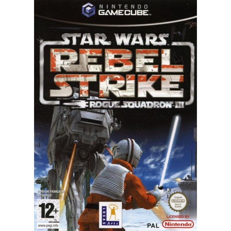 GC STAR WARS ROGUE SQUADRON REBEL STRIKE ROGUE SQUADRON 3 - Jeux GameCube au prix de 14,95€