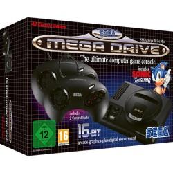 CONSOLE MEGA DRIVE MINI 16 BIT - 42 JEUX - Consoles Mega Drive au prix de 79,95€