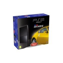 CONSOLE PS2 SLIM PACK GRAN TURISMO 4 - Consoles PS2 au prix de 69,95€