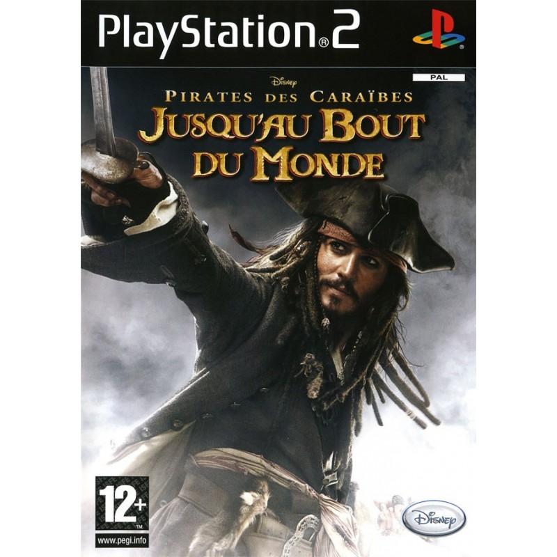 PS2 PIRATES DES CARAIBES JUSQU AU BOUT DU MONDE - Jeux PS2 au prix de 3,95€