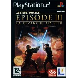 PS2 STAR WARS EPISODE 3 LA REVANCHE DES SITH - Jeux PS2 au prix de 4,95€
