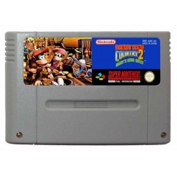 SN DONKEY KONG COUNTRY 2 (LOOSE) - Jeux Super NES au prix de 19,95€