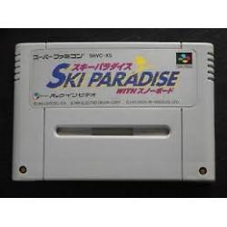 SN SKI PARADISE (IMPORT JAP) - Jeux Super NES au prix de 4,95€