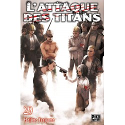 L ATTAQUE DES TITANS T29 - Manga au prix de 6,95€