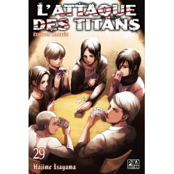 L ATTAQUE DES TITANS T29 EDITION LIMITEE - Manga au prix de 10,00€
