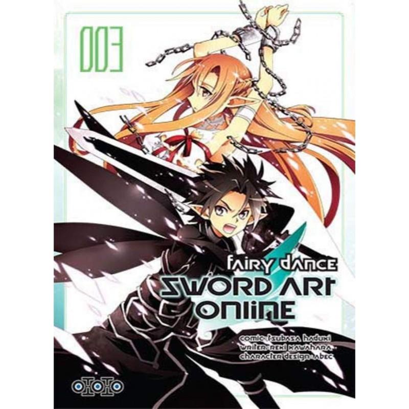 SWORD ART ONLINE FAIRYDANCE T03 - Manga au prix de 7,99€