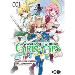 SWORD ART ONLINE GIRLS OPS T01 - Manga au prix de 6,99€