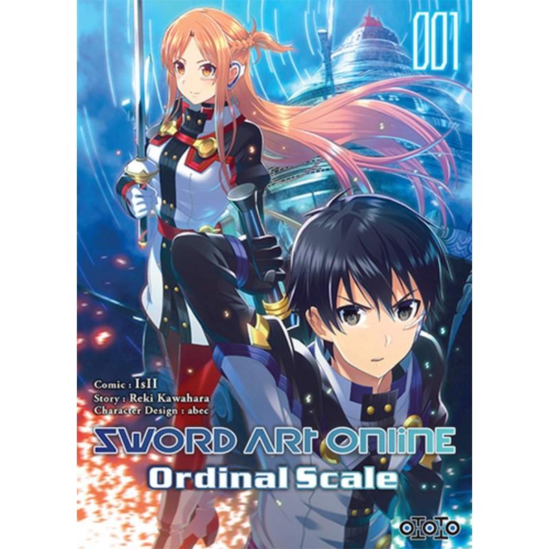 SWORD ART ONLINE ORDINAL SCALE T01 - Manga au prix de 6,99€
