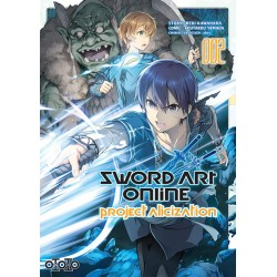 SWORD ART ONLINE PROJECT ALICIZATION T02 - Manga au prix de 6,99€