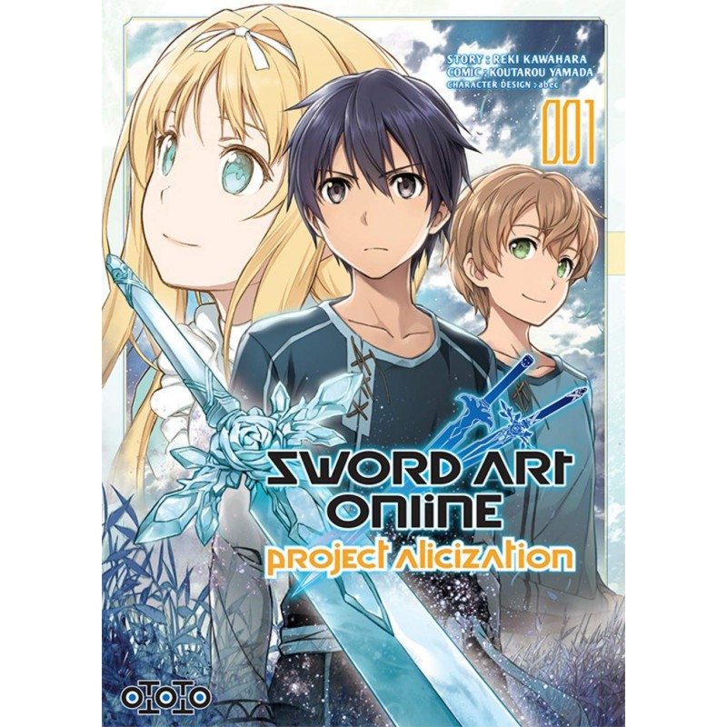 SWORD ART ONLINE PROJECT ALICIZATION T01 - Manga au prix de 6,99 €