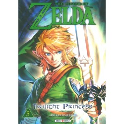 THE LEGEND OF ZELDA TWILIGHT PRINCESS T05 - Manga au prix de 7,99 €