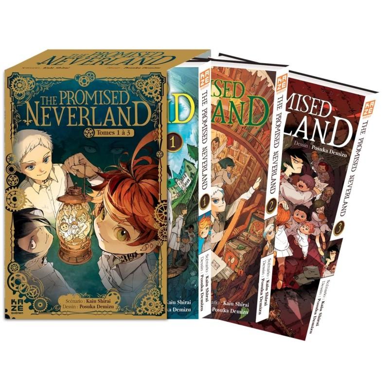 THE PROMISED NEVERLAND PACK T01 A T03 - Manga au prix de 20,67€