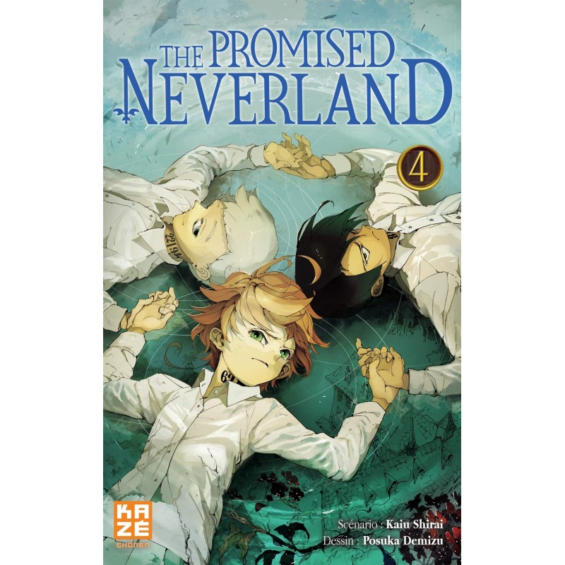 THE PROMISED NEVERLAND T04 - Manga au prix de 6,89€