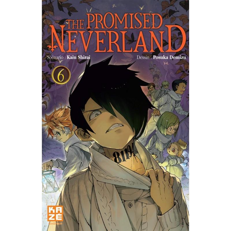 THE PROMISED NEVERLAND T06 - Manga au prix de 6,89€