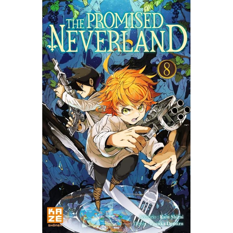 THE PROMISED NEVERLAND T08 - Manga au prix de 6,89€