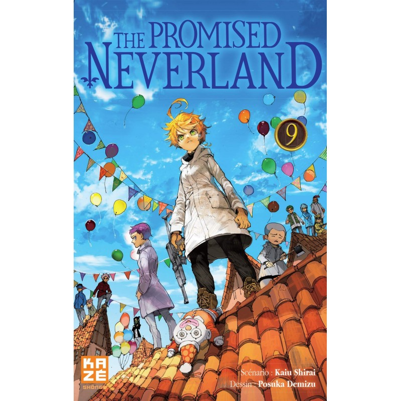THE PROMISED NEVERLAND T09 - Manga au prix de 6,89 €