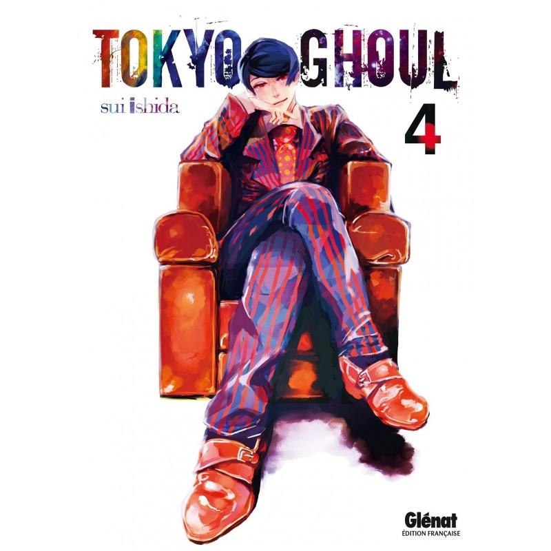 TOKYO GHOUL T04 - Manga au prix de 6,90€