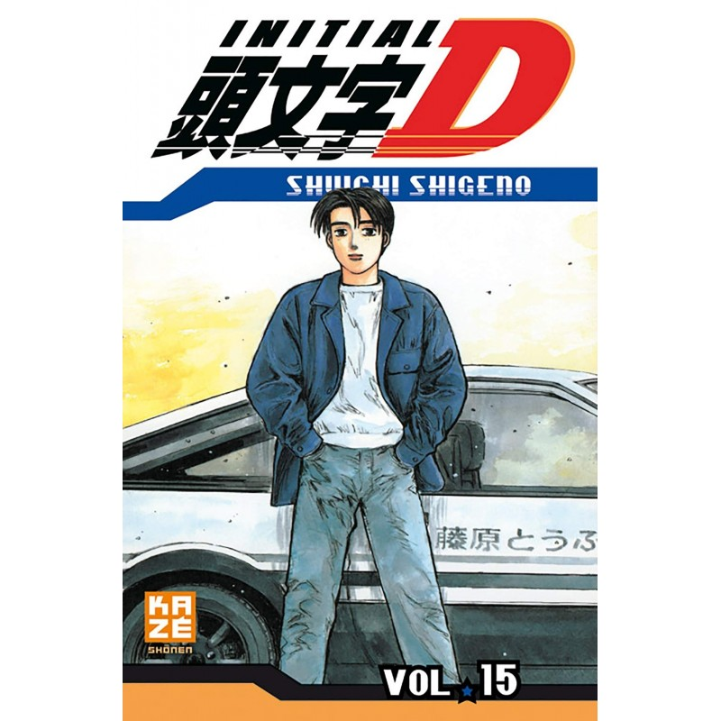 INITIAL D T15 - Manga au prix de 6,89€