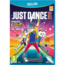 WIU JUST DANCE 2018 - Jeux Wii U au prix de 14,95€