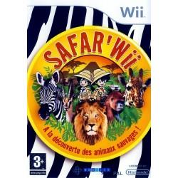 WII SAFAR WII - Jeux Wii au prix de 9,95€