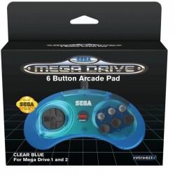 MANETTE MEGADRIVE 6 BOUTONS RETROBIT USB MINI - Accessoires Mega Drive au prix de 19,95€